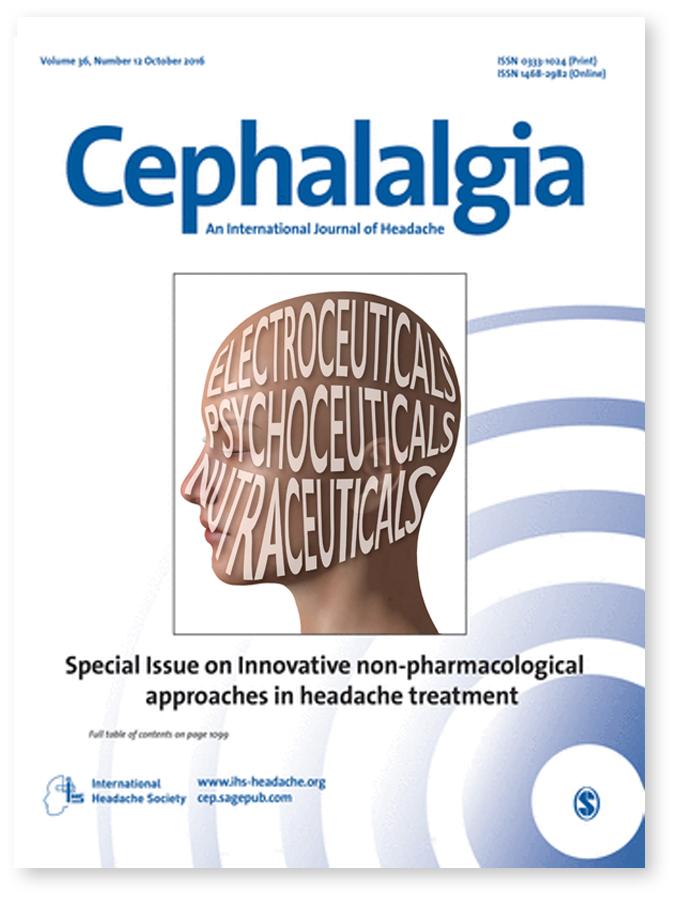 Cephalalgia Cover