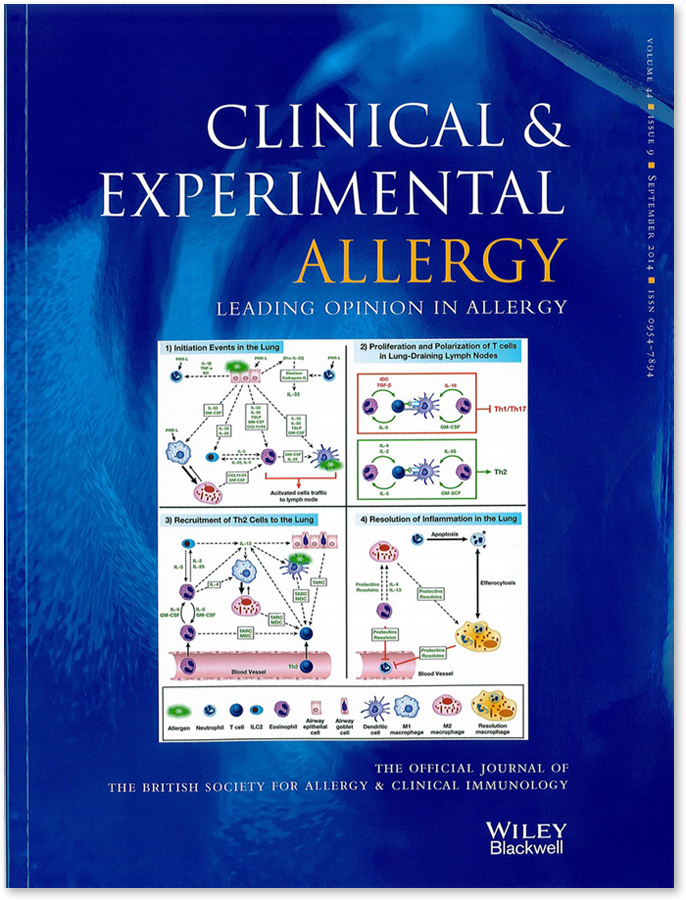 Clinical and Experimental Allergy 2014 44